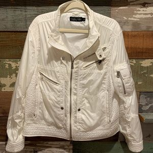 Awesome😎 white jacket by Ralph Lauren (vintage)